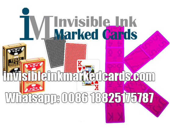luminous marked cards poker